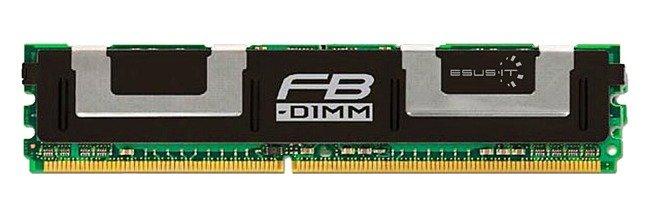 Memory RAM 1x 2GB Hynix ECC FULLY BUFFERED DDR2 667MHz PC2-5300 FBDIMM | HYMP525F72CP4D2-Y5