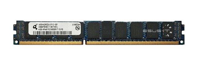 Memory RAM 1x 4GB QIMONDA ECC REGISTERED DDR3  1066MHz PC3-8500 RDIMM | IMSH4GP23A1F1C-10F