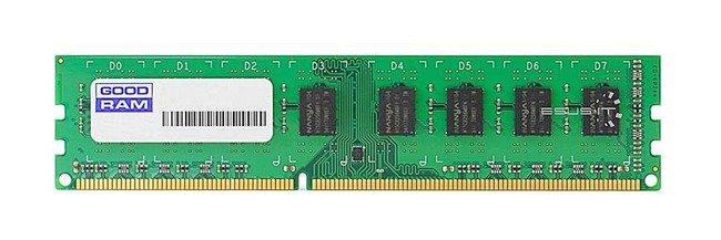 Memory RAM 1x 8GB GoodRAM ECC UNBUFFERED DDR3  1600MHz PC3-12800 UDIMM   W-MEM1600E38G