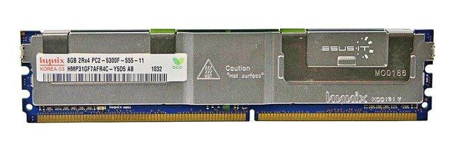 Memory RAM 1x 8GB Hynix ECC FULLY BUFFERED DDR2 667MHz PC2-5300 FBDIMM | HMP31GF7AFR4C-Y5D