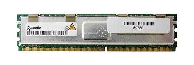 Memory RAM 1x 8GB QIMONDA ECC FULLY BUFFERED DDR2 667MHz PC2-5300 FBDIMM | HYS72T1G442EFA-3S-C2