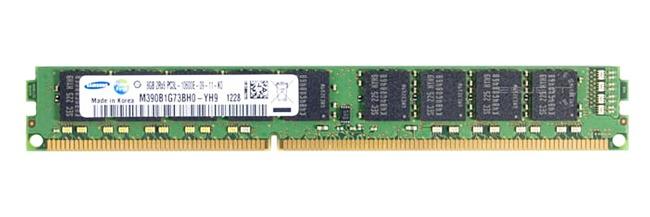 Memory RAM 1x 8GB Samsung ECC UNBUFFERED DDR3  1333MHz PC3-10600 UDIMM | M390B1G73BH0-YH9