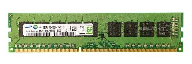 Memory RAM 1x 8GB Samsung ECC UNBUFFERED DDR3 2Rx8 1600MHz PC3-12800 UDIMM   M391B1G73BH0-CK0